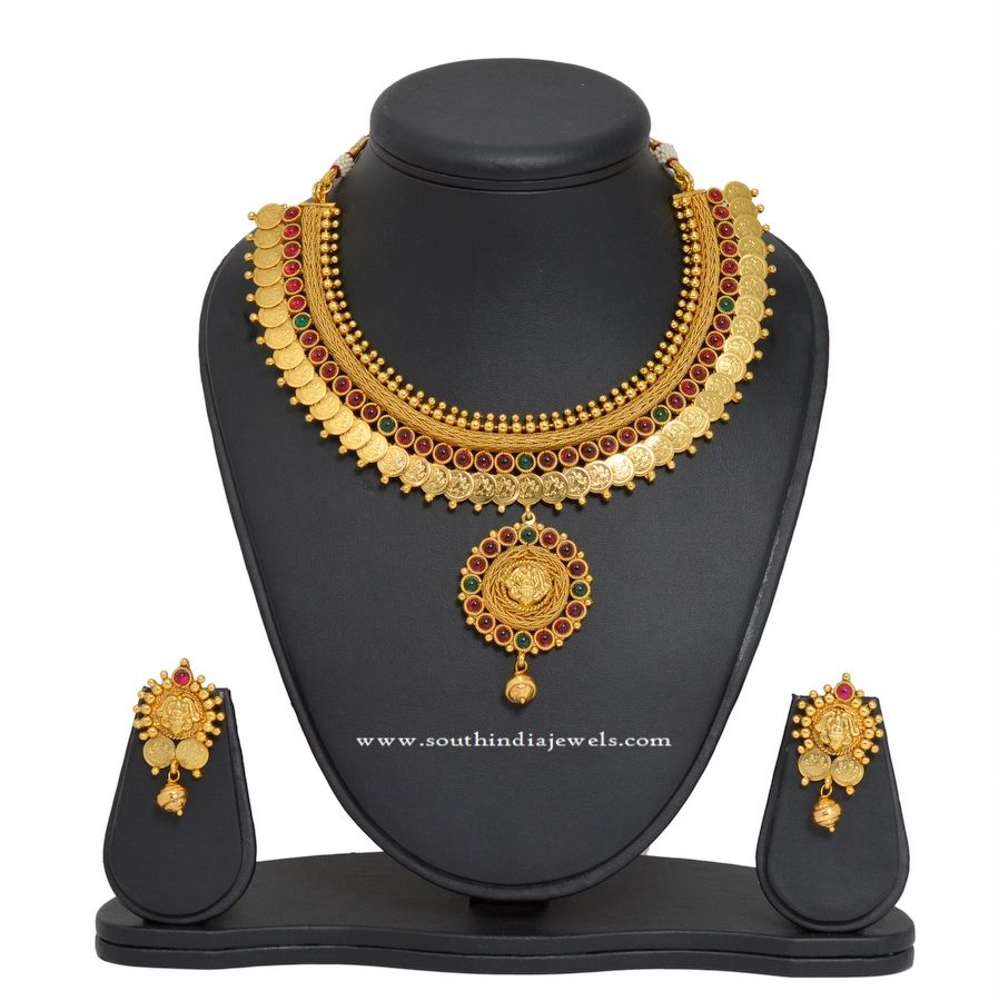 Gold Plated Kasumalai Set Gold Collection and South indian
