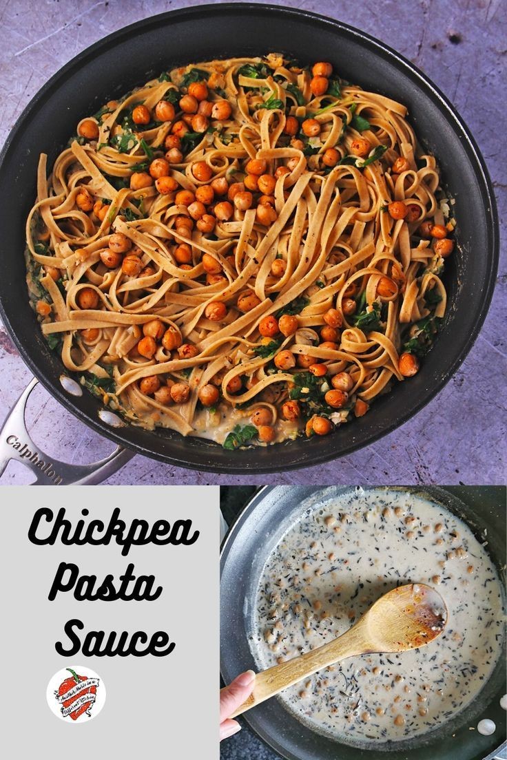 chickpea pasta sauce with rosemary and spinach another music in a different kitchen recipe on hebbar s kitchen white sauce pasta id=91814