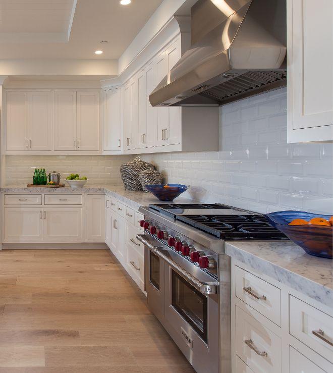 Restoration Hardware White Kitchen