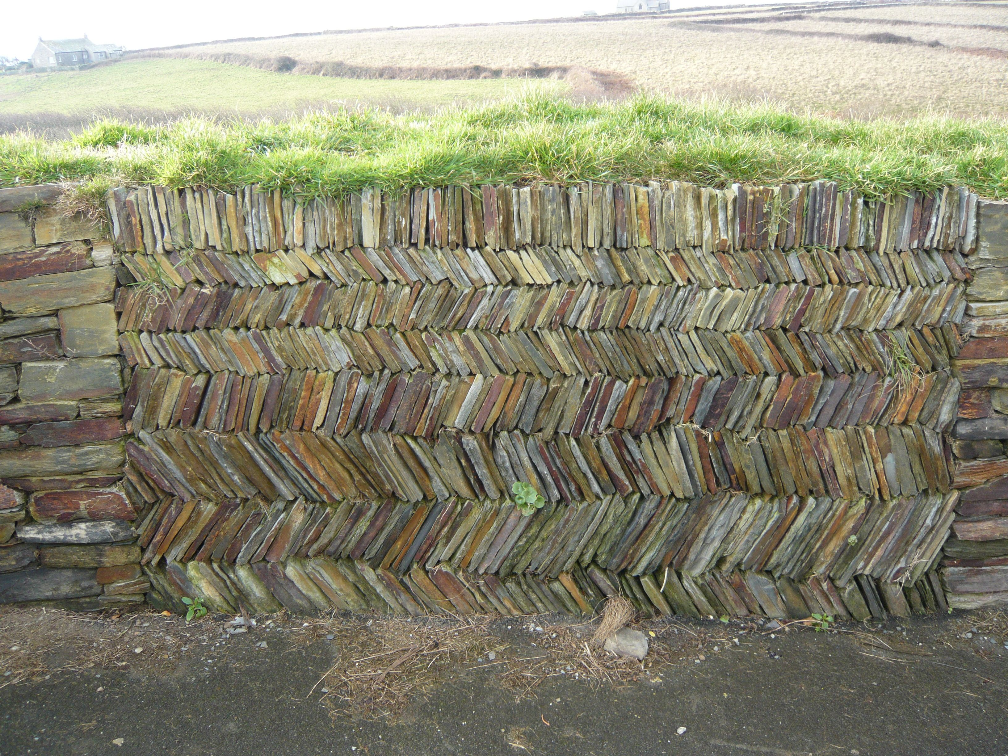 Pretty Cornish Stone Wallit Looks Like Books Piles On Top