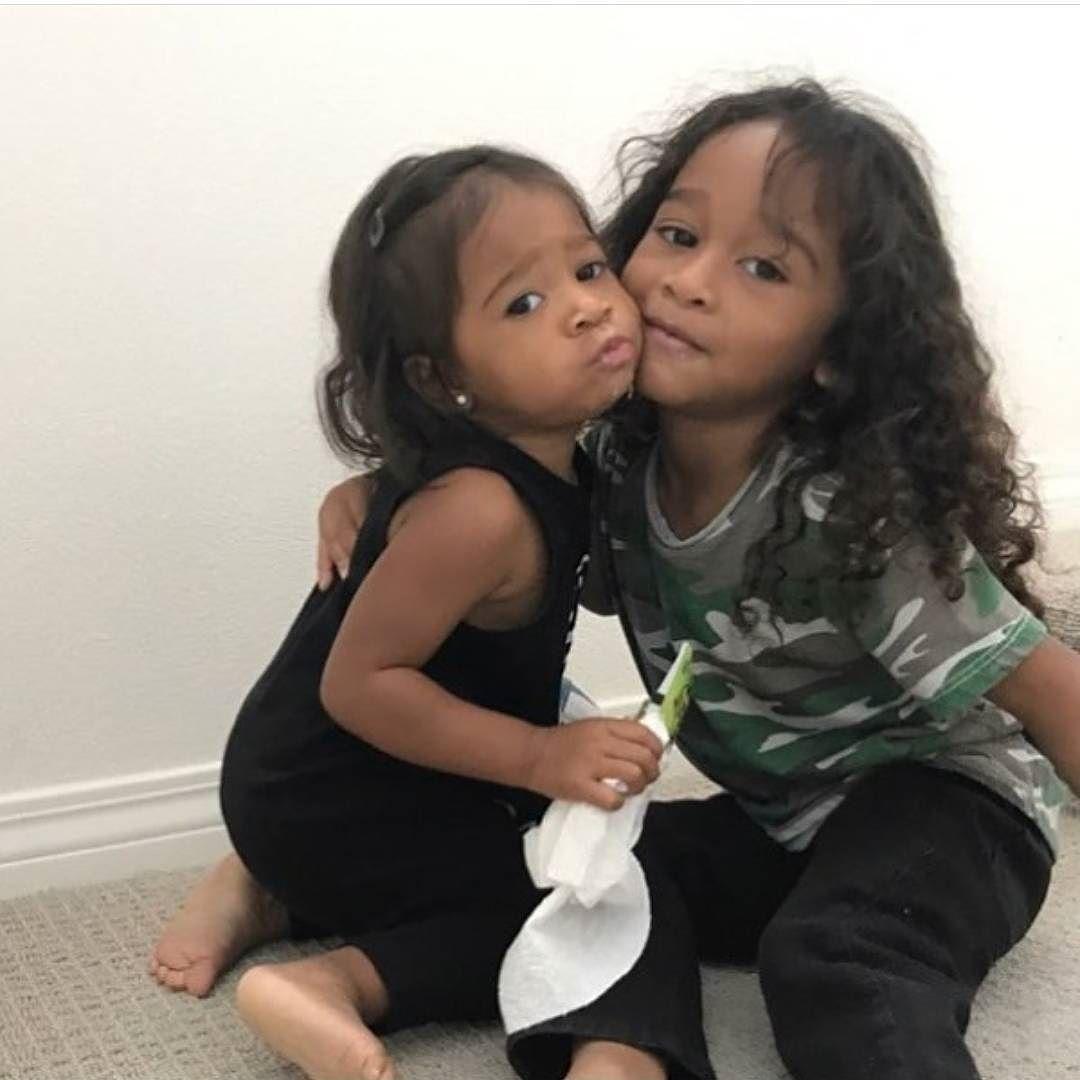 Sibling Love Omarion S Kids Megaa Amp Amei Luv