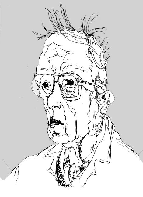 Line Drawing Famous Artists : Blind contour line drawing google search drawings