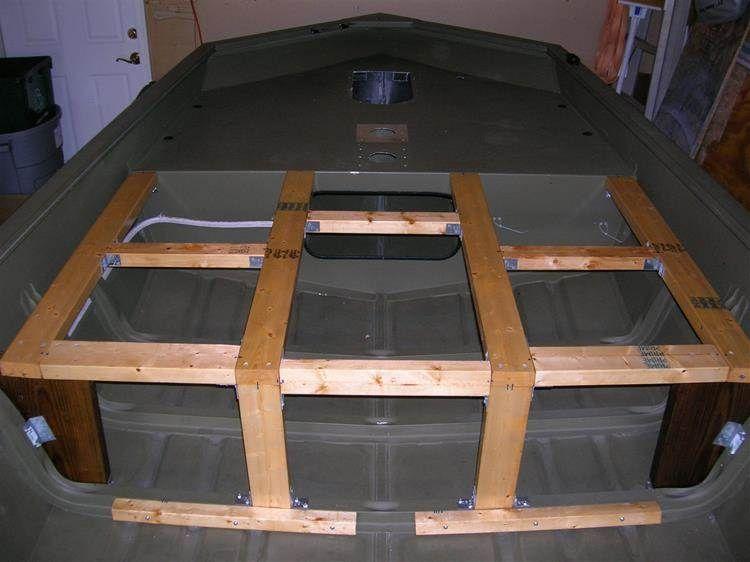 Jon Boat Deck Ideas
