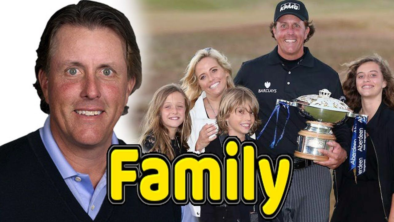 Phil Mickelson Family Photos With Daughter Son And Wife Amy Mickelson 2018 Phil Mickelson Sports Gallery Famous Sports