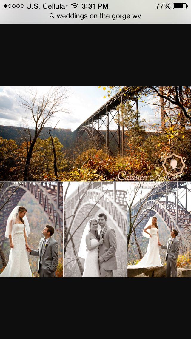 Wedding on the gorge