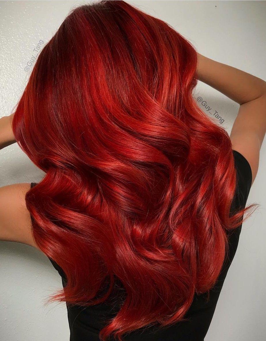 Pin By Christina Watt On Guy Tang Hair God Creations Hair Styles Hair Red Hair Color