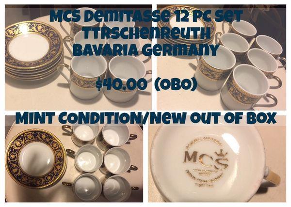 MCS Demitasse 12 PC Set Ttrschenreuth Bavaria Germany ( Collectibles ) in Coral Gables, FL - OfferUp