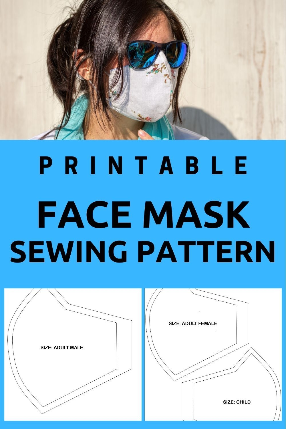 Photo of Face Mask Sewing Pattern