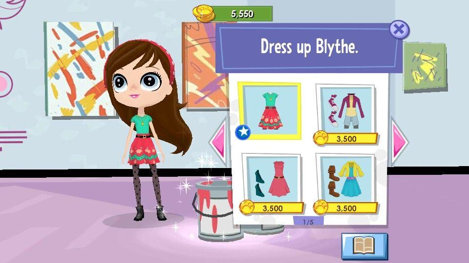 Blythe In Littlest Pet Shop Game Littlest Pet Shop Little Pets Lps