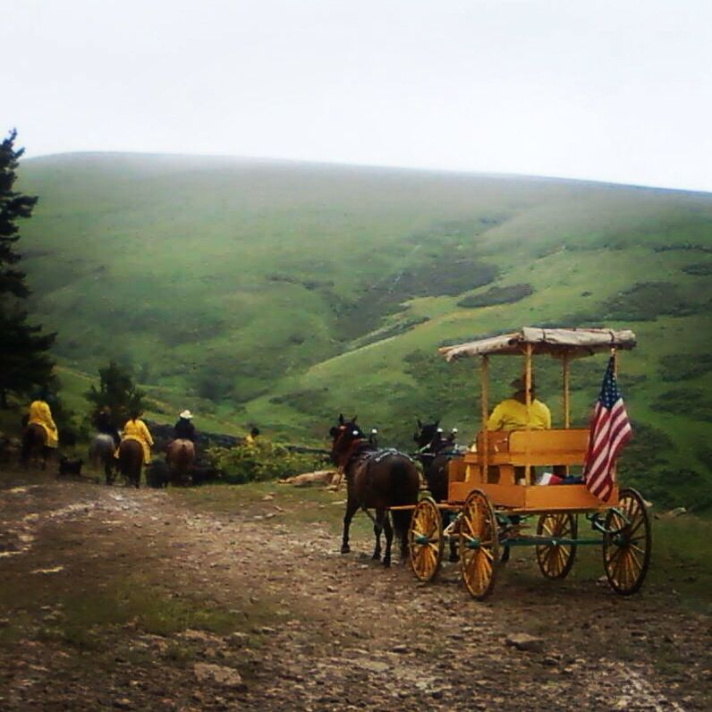 Cattle drive in the rain ranch life cattle drive