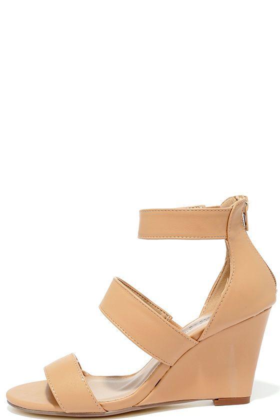 Wedge sandals, Cute wedges, Wedges