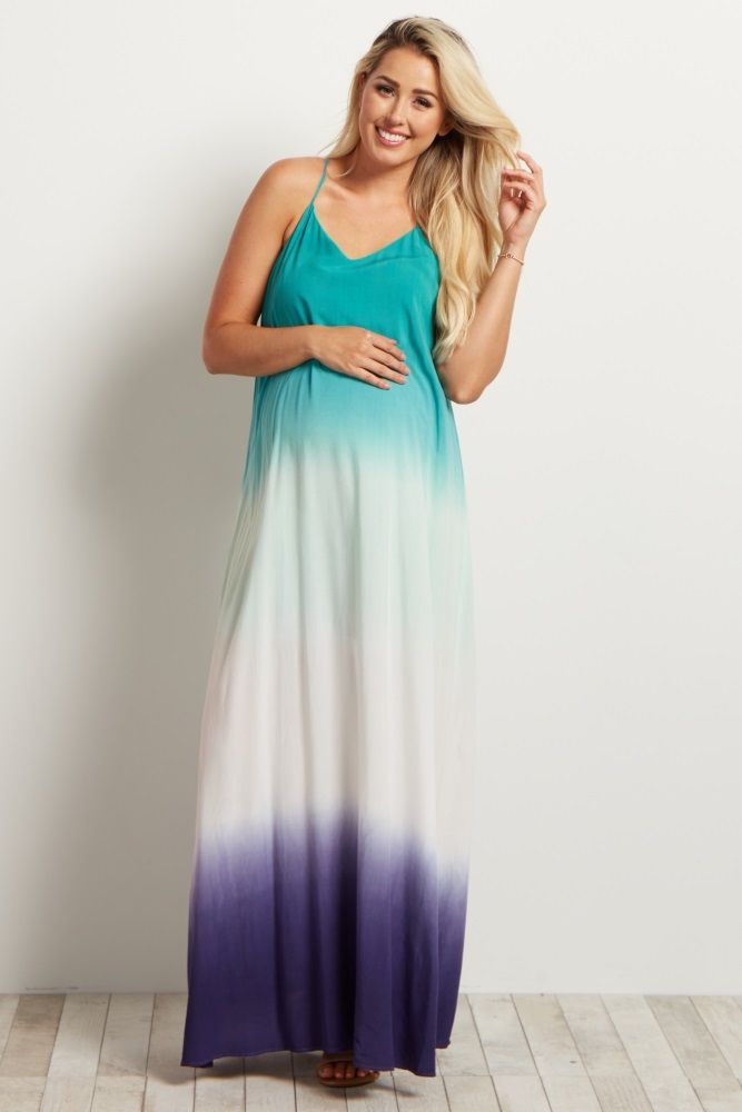 e4a6e5a7918a3 A simply chic maternity maxi dress you can dress up or down for any occasion .
