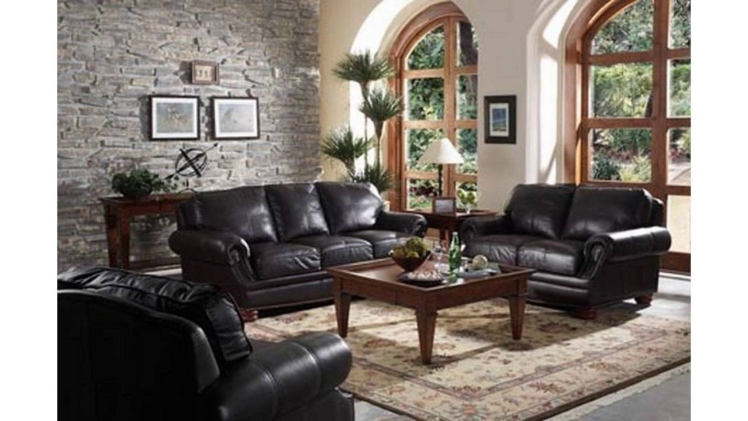 12 insanely beautiful living room ideas for black leather