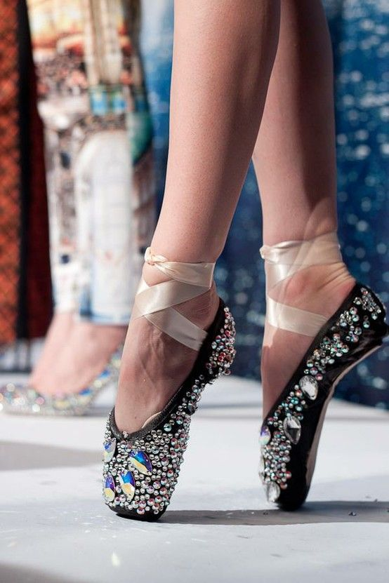 black sparkly pointe shoes pleaseeeee but it s