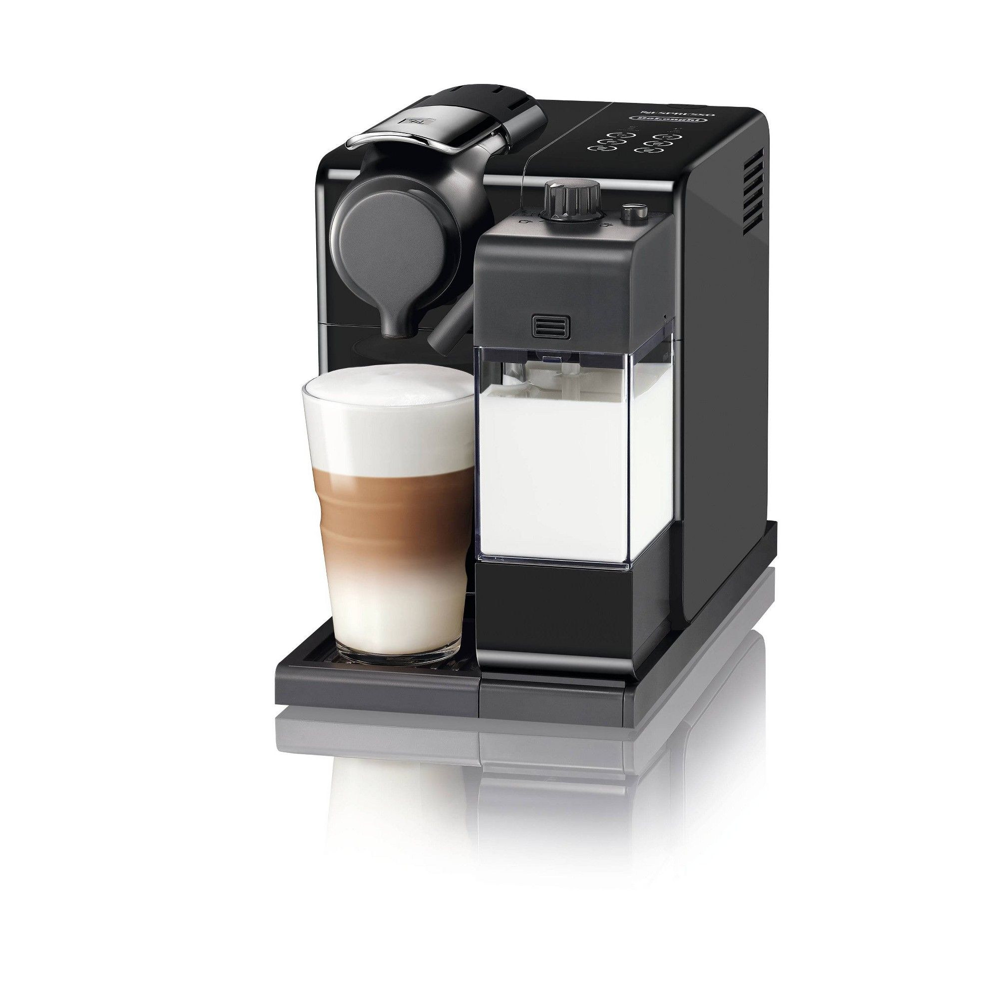 Nespresso Lattissima Touch Espresso Machine Washed Black