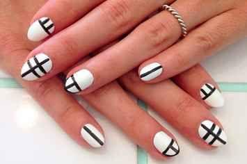32 Ideas de nail art para las fans de lo minimalista