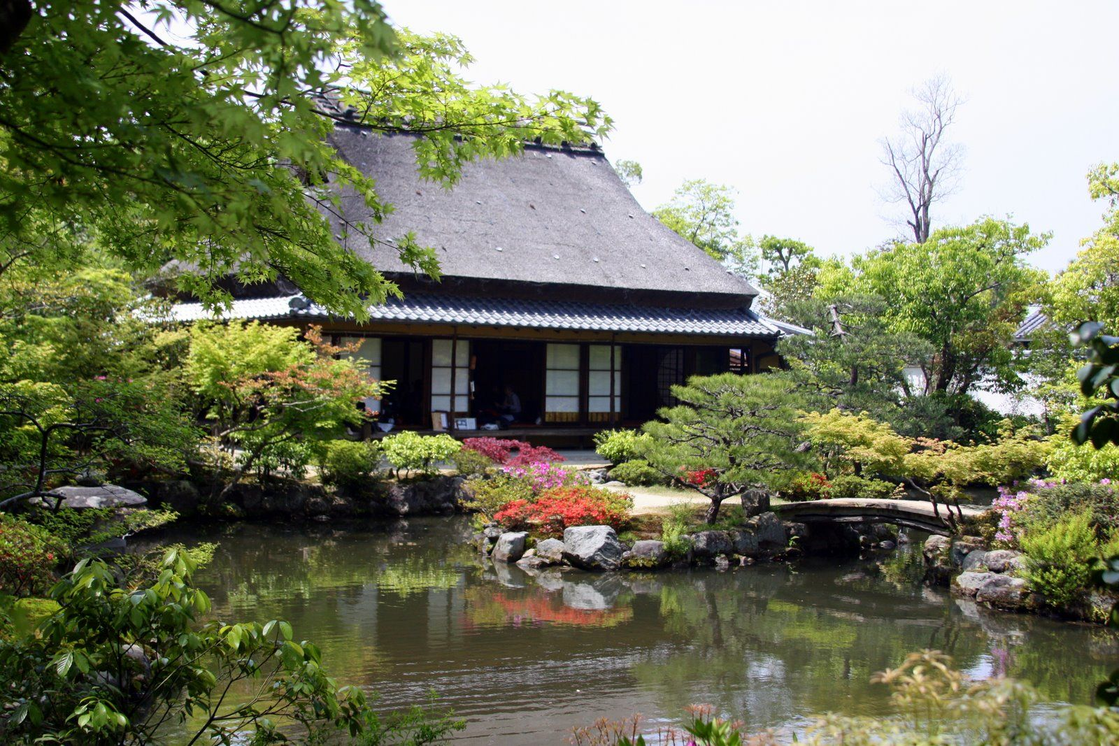 Japan House Style nara japan | japanese tea house in the garden | japan | pinterest