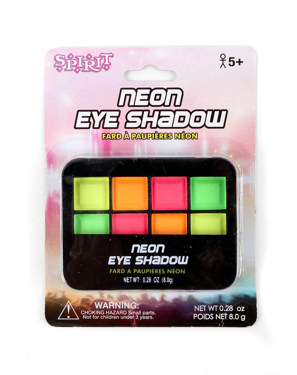 Neon Eyeshadow Palette Spirit Halloween Neon eyeshadow
