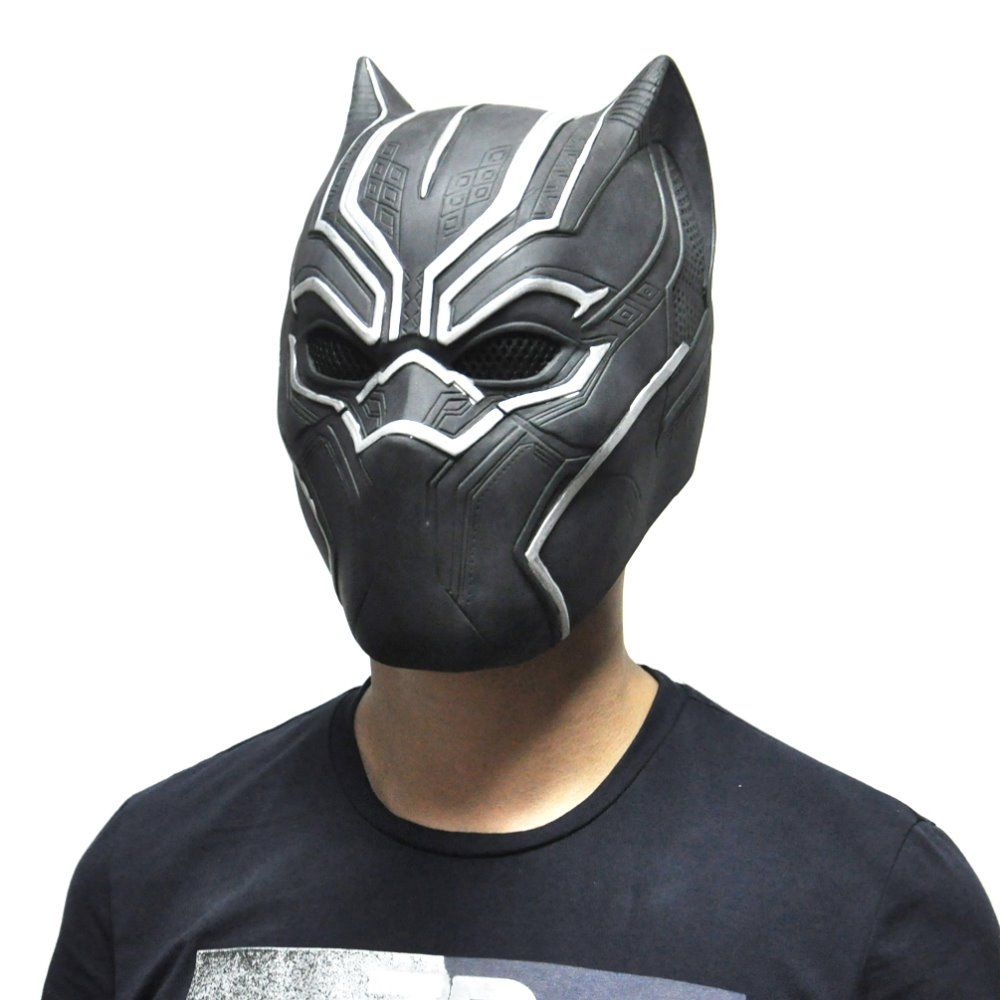 Find More Festive & Party Supplies Information about Black Panther Masks…