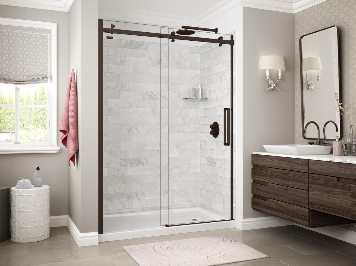 Maax Utile Shower Wall Shower Surround Sophisticated Bathroom