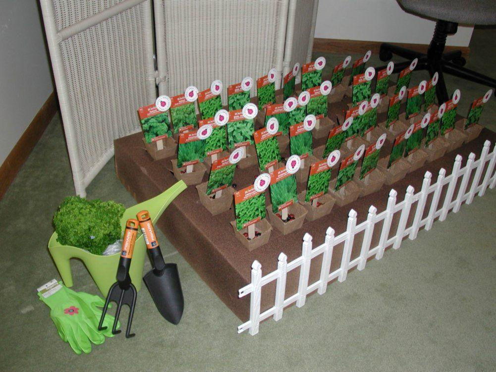 Garden themed volunteer appreciation event