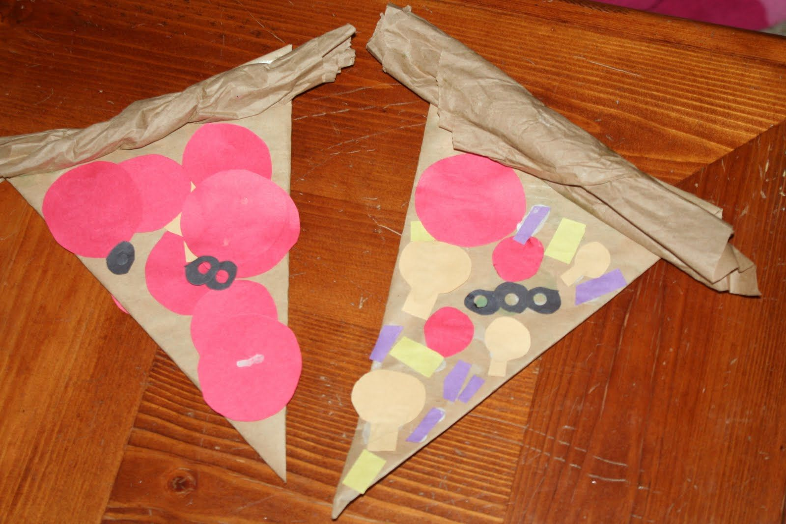 Create Your Own Cardboard Pizza Craft And Your Children