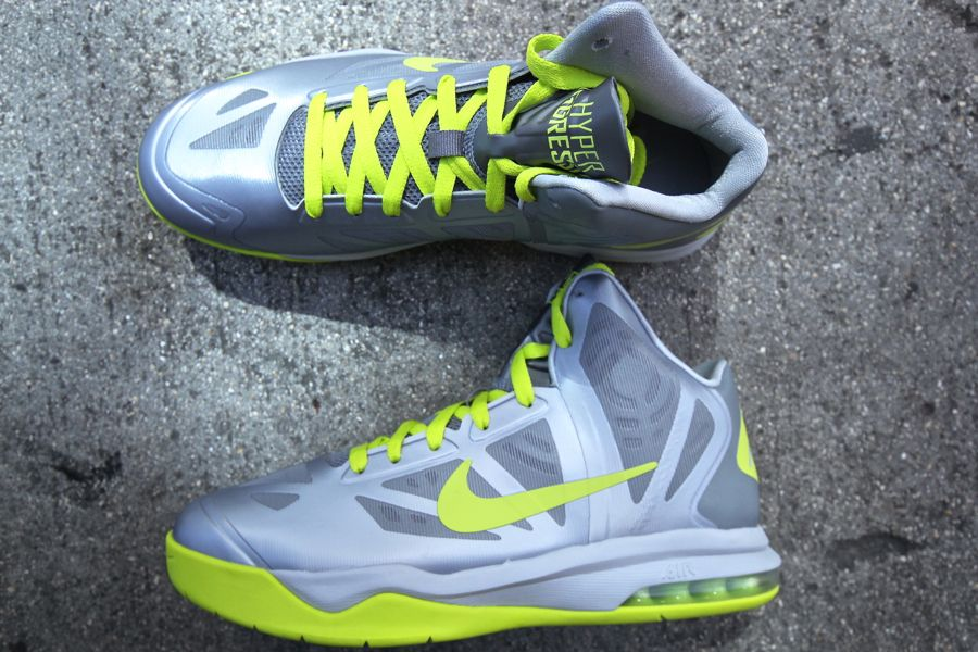 lower price with a7621 6bfa0 ... Nike Air Max Hyperaggressor - Wolf GreyAtomic Green ...