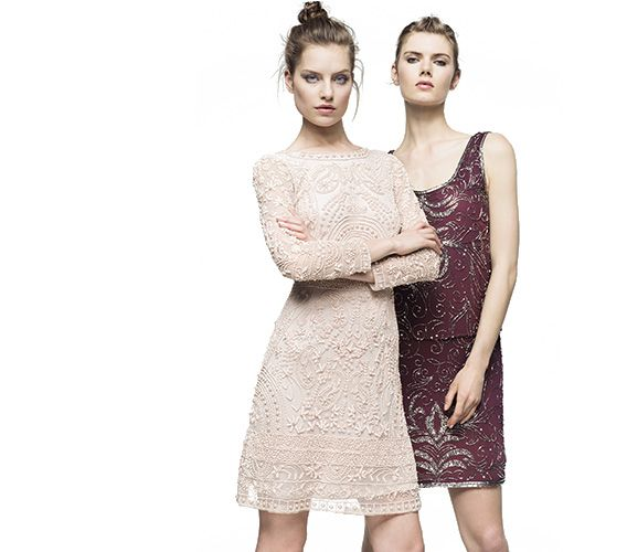Vestidos de fiesta cortos para bodas corte ingles