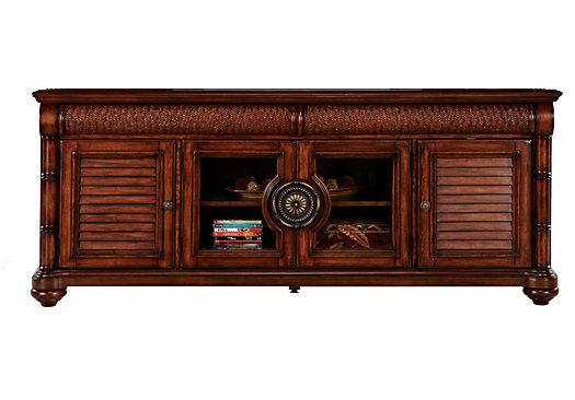 Shop for a Key West Dark Pine Console at Rooms To Go. Find ...