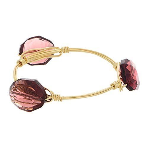 Great Mother's Day Gift! Gold Tone Wire Bangle Featuring Faceted Opaque Purple Tone Acrylic Stones J and D Jewelry and More http://www.amazon.com/dp/B00PHIJ4TS/ref=cm_sw_r_pi_dp_N8Qlvb1MMEH6Z