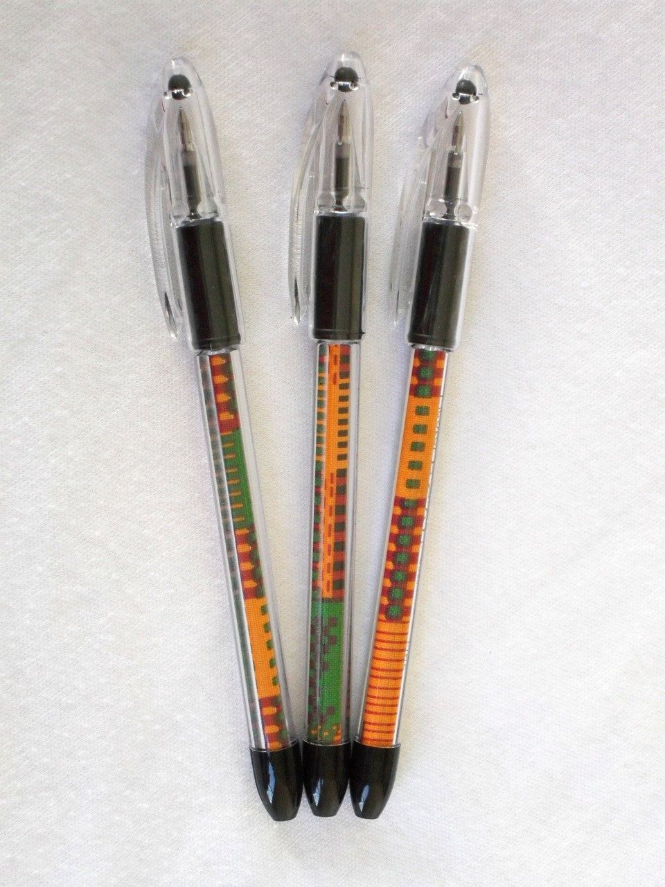 KENTE PEN WEDDING FAVORS - Refillable - From HeritageExpressions at ...