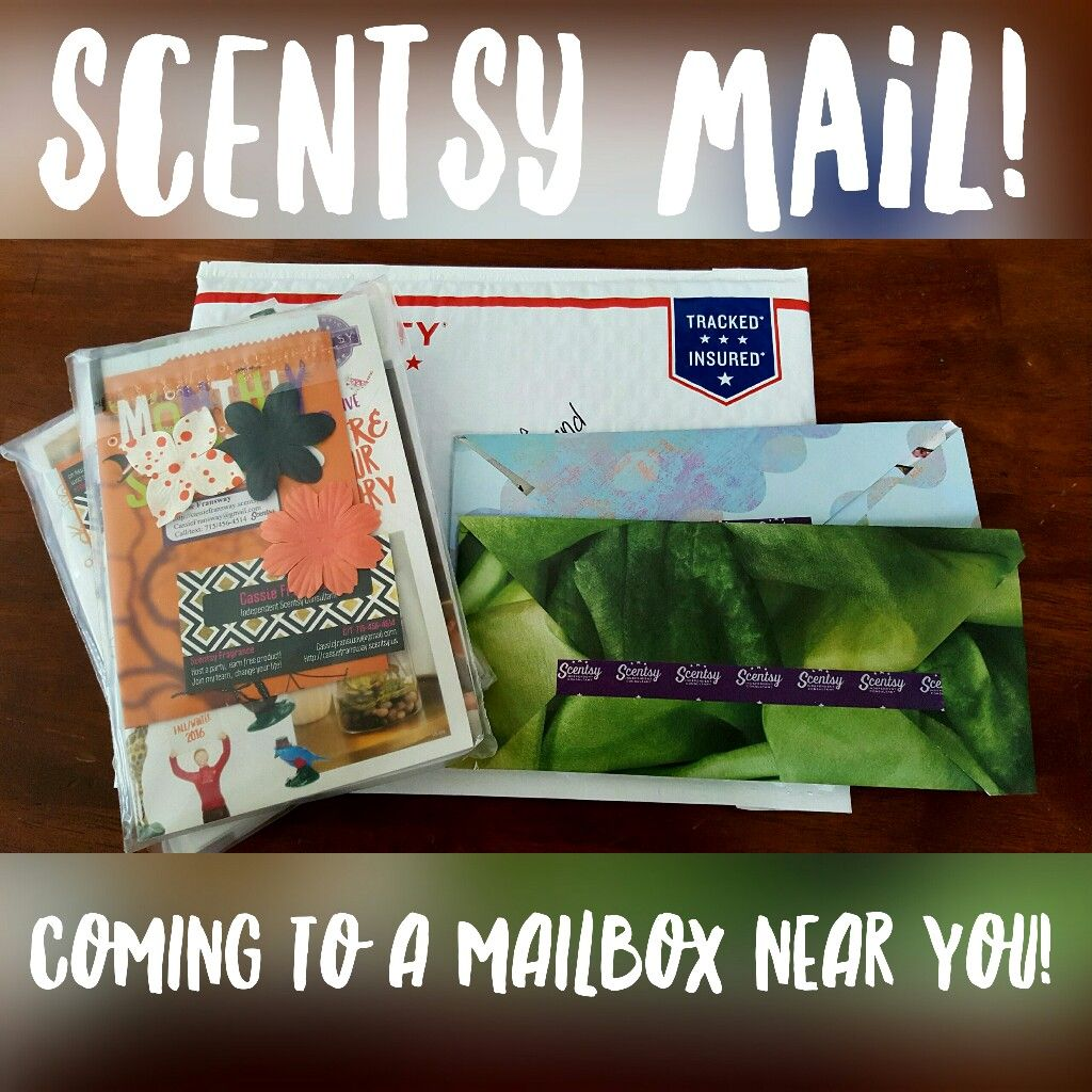 ItS Scentsy Mail Day Sending Out A Welcome Packet To A Recruit