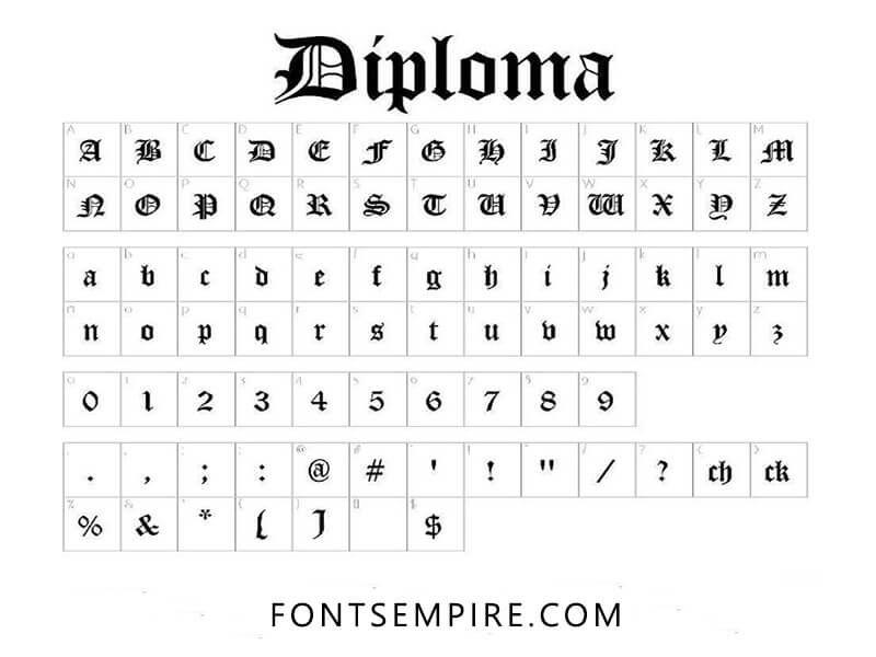 Diploma Font Free Download Free Fonts Download Free Script