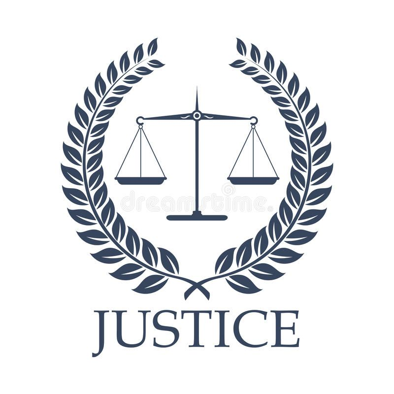 Justice Scales And Law Vector Laurel Wreath Icon Legal Or Law Icon With Symbols Sponsored Laurel Wreath Icon V In 2021 Justice Scale Law Icon Peace Drawing