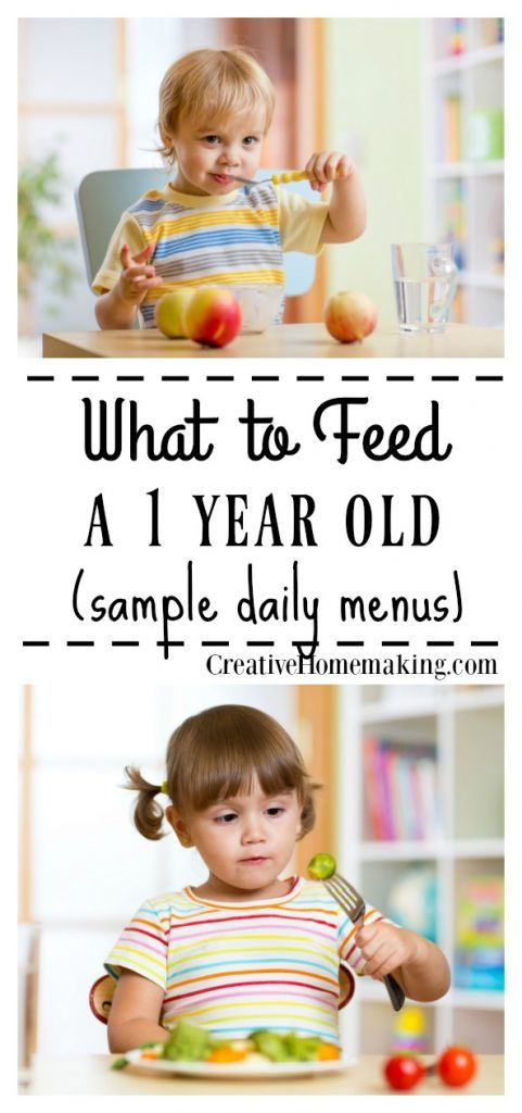 Menu for 12-Month-Old Baby images