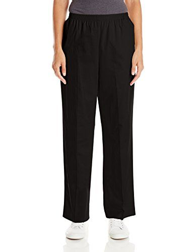 Alfred Dunner Womens Missy Proportioned Short Twill Pant