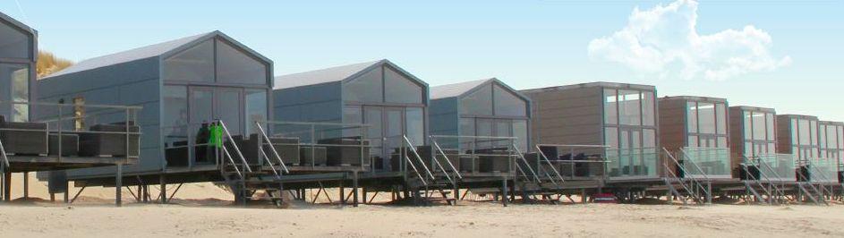 Slaapzand strandhuisjes (vakantie)