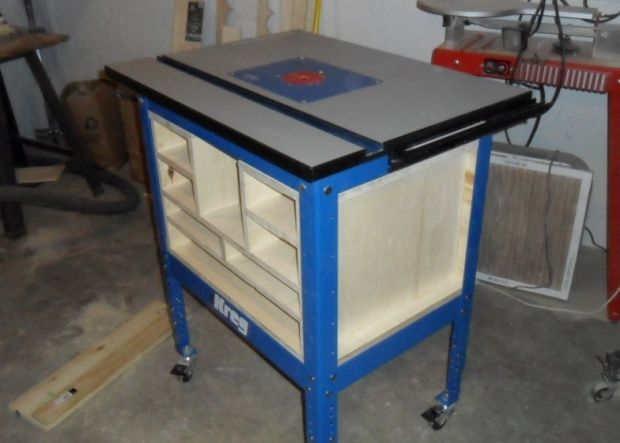 Pin by jeff carlson on kreg router table pinterest kreg router kreg router table garage workshop workshop ideas kreg jig work benches cabinets working tables closets garage greentooth Image collections