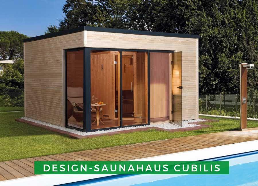 WEKA DesignSaunahaus Cubilis Saunahaus, Gartensauna