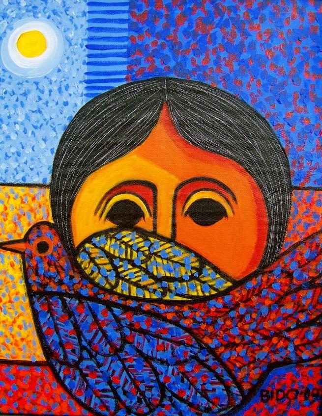 Pinturas de Cándido Bidó