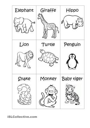 A simple matching exercise. - ESL worksheets | Display | Pinterest ...