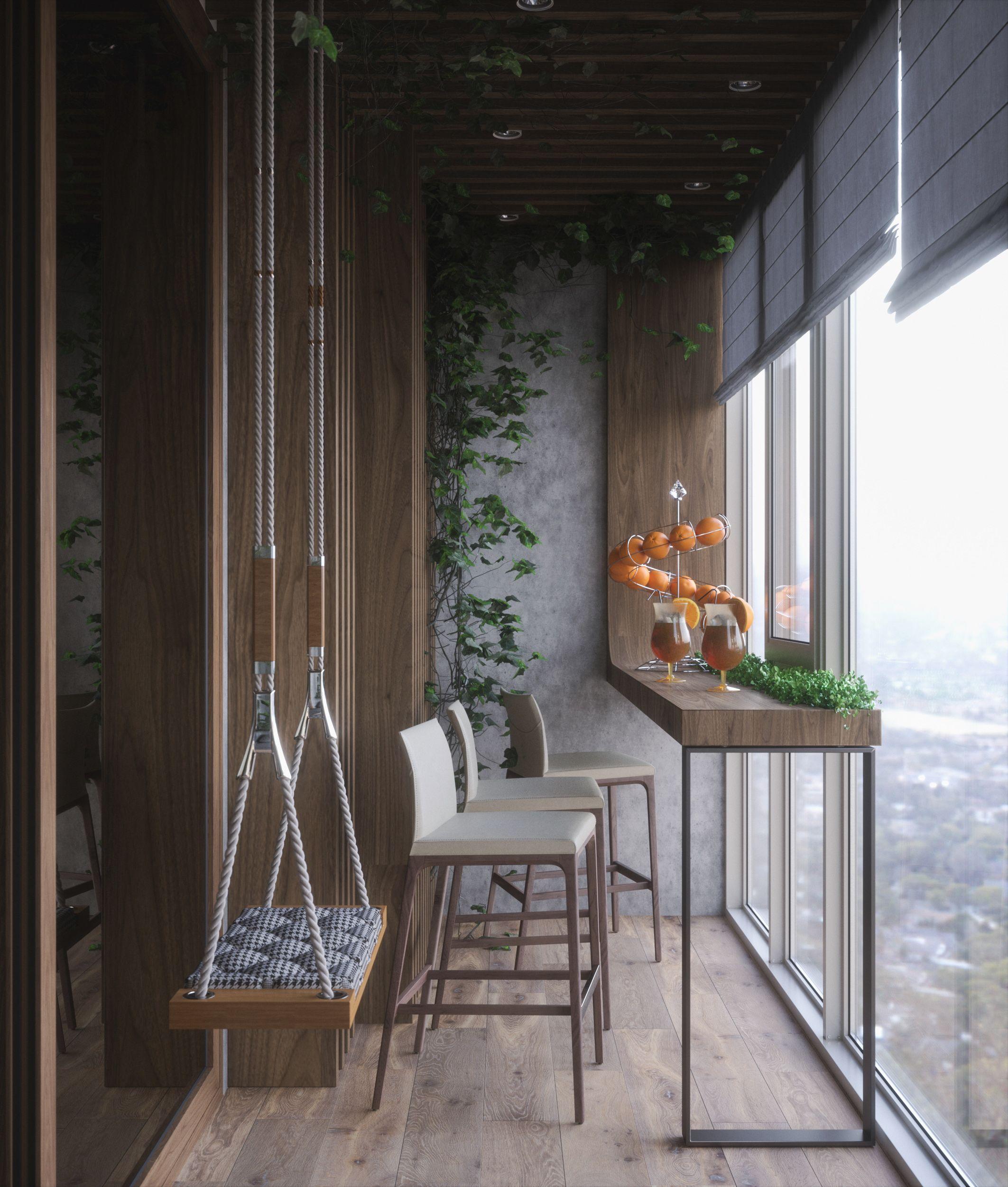 Bedroom Wardrobe Terrace Small Balcony Decor Small