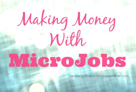 Flexible, easy ways to make extra cash doing short little microjobs from home.