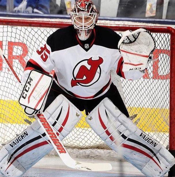Cory Schneider #35 NJ Devils goalie   New Jersey Devils