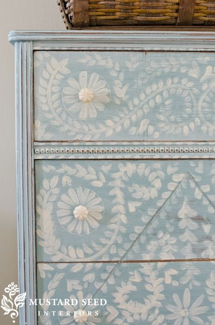 Hand Painted Dresser I Think I Could Do This Now Whether I D