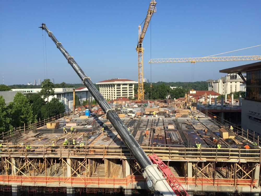 Two-Tiered Bridge Highlights EUH's $400M Investment #heavyequipment #construction