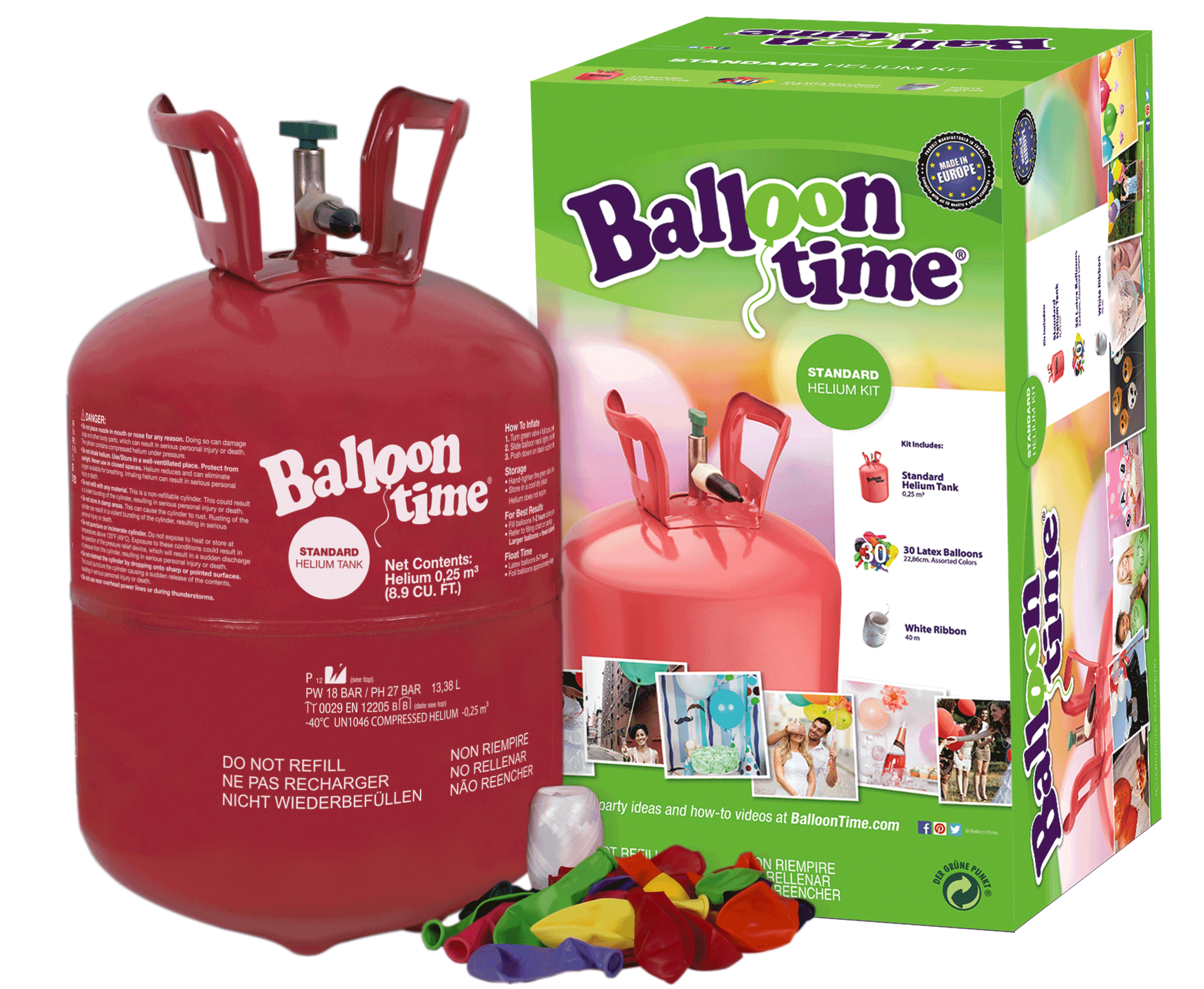 Festive DIY Balloon Tails | Clever and Crafty | Balloon Time Helium
