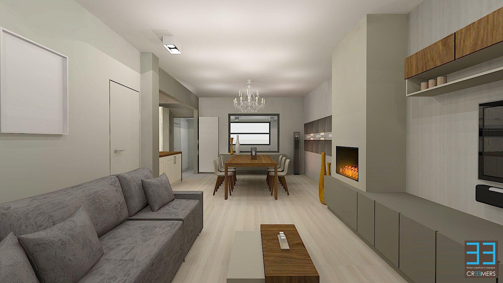 Lichte woonkamer met handige ideeën | Interieur inrichting ...