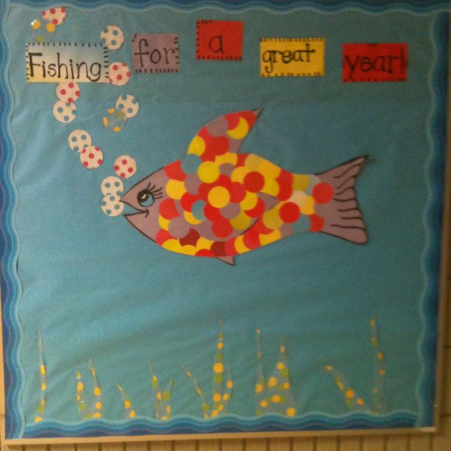 This is a Bulletin Board after being inspired here on Pinterest. Thank you!