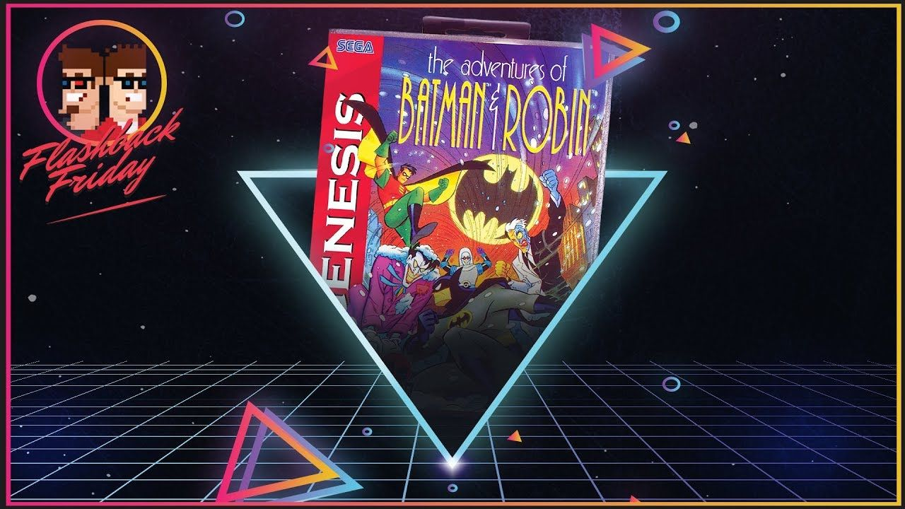 The Adventures Of Batman And Robin Sega Genesis Flashback Friday In 2020 Sega Genesis Sega Genesis